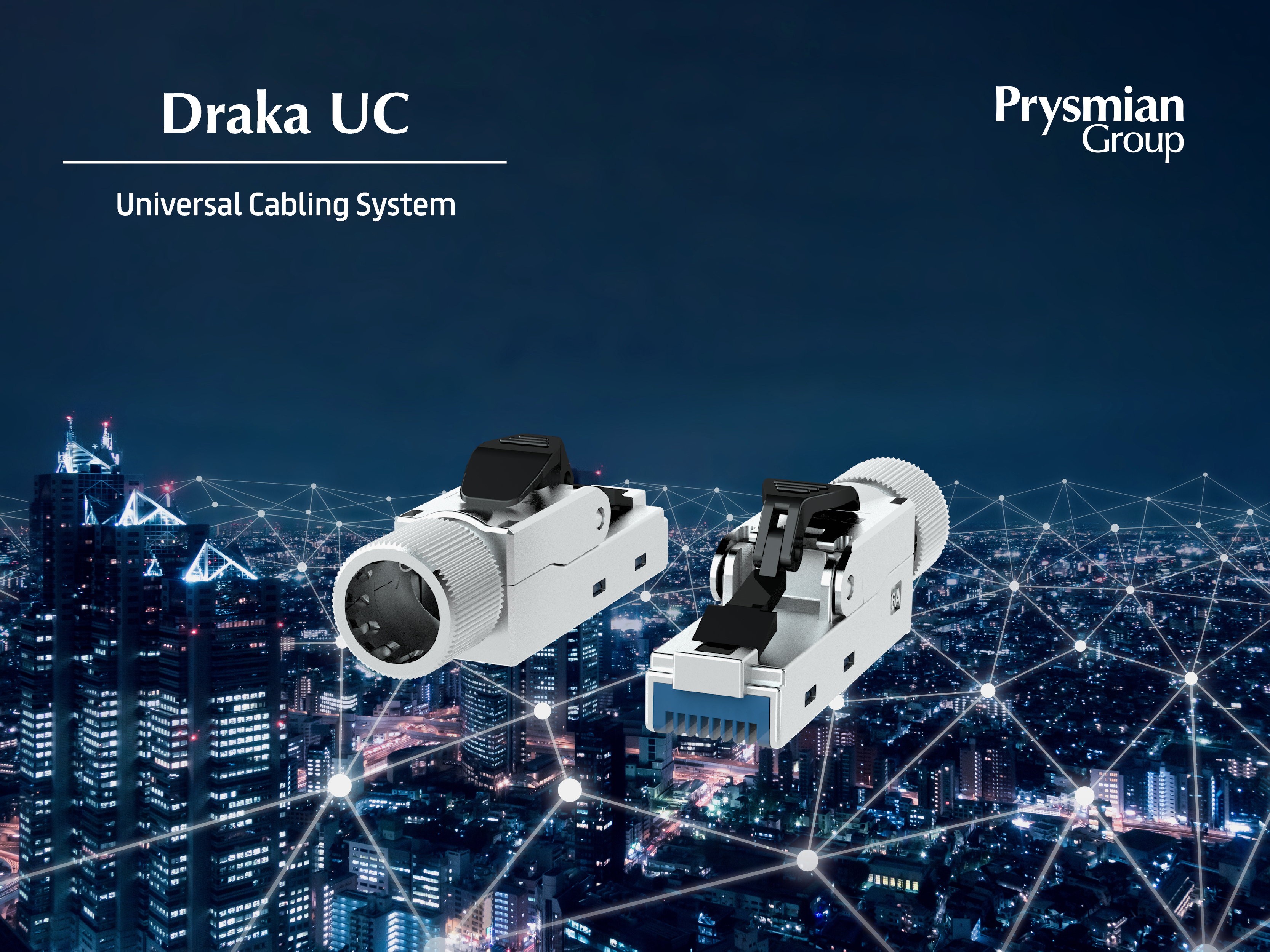 Realise Power over Ethernet with the Draka Universal Cabling System